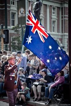 Drapeau australien, Perth