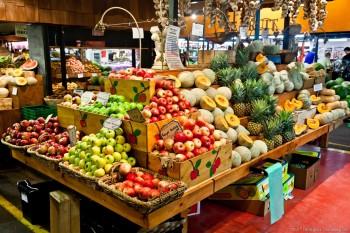Fruits, marché d'Adélaïde