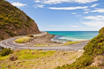 Great Ocean Road, près de Lorne