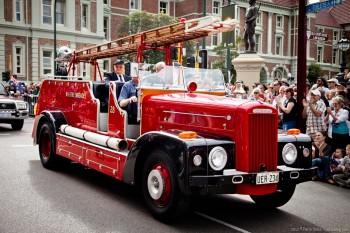 Camion de pompier, Perth