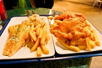 Fish and chips, Mandurah