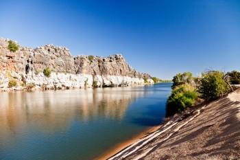 Fitzroy River, Geikie Gorge