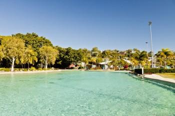 Le lagon d'Airlie Beach, Australie