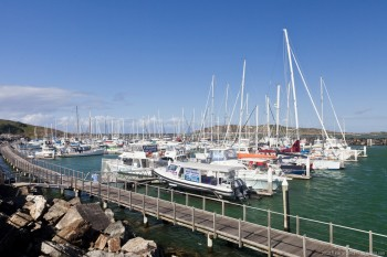 Le port de Coffs Harbour