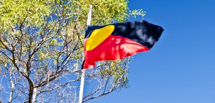 Drapeau aborigène, Halls Gap