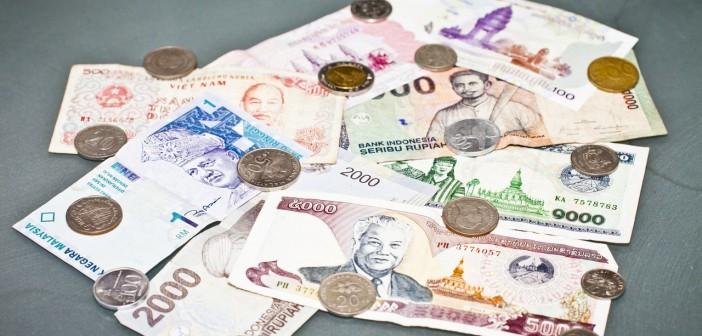 Monnaies asiatiques