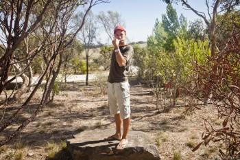 Toilette dans la nature en Australie