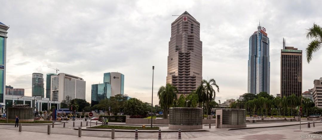 Panoramique de Kuala Lumpur Malaisie