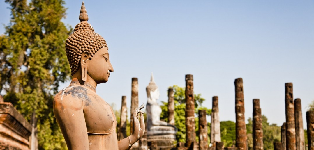 Statue Sukhothai Thailande