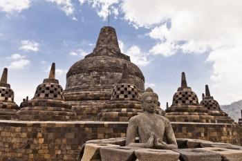 Temple Borobudur Java Indonesie