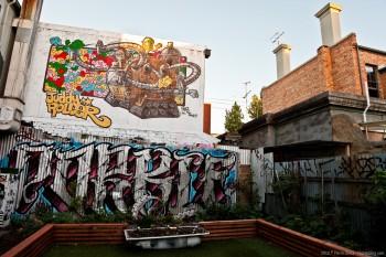 Les tags de Fitzroy, Melbourne